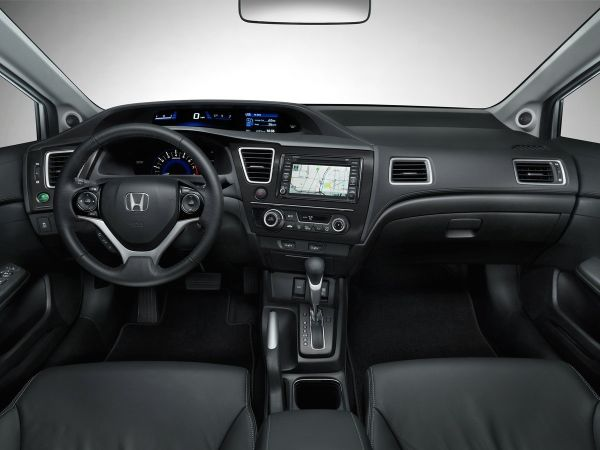 Honda Civic Natural Gas Interior - 2015