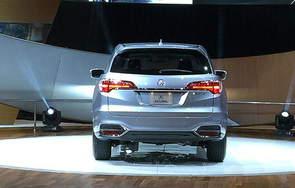 2016 ACURA RDX - Rear View