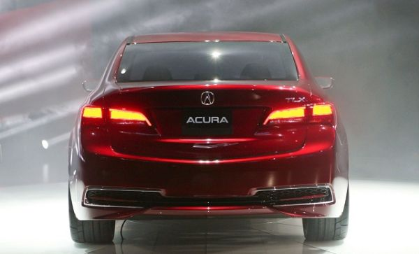 2016 ACURA TLX - Rear View