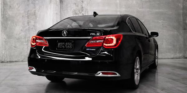 2016 Acura RLX - Rear View