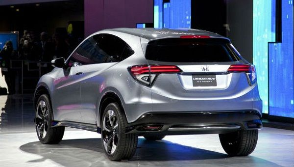 2016 Honda CR-V - Rear View