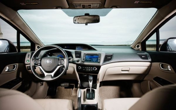 2016 - Honda Civic Sedan EX Interior