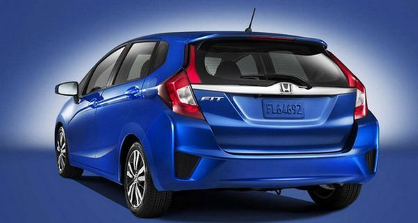 2016 - Honda Fit Rear View