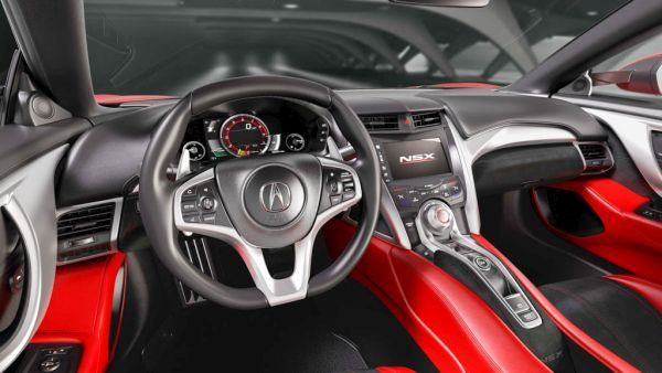 Acura NSX Type R 2017 - Interior