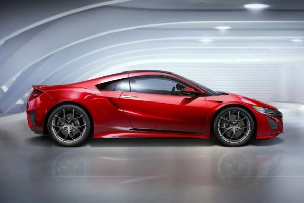 Acura NSX Type R 2017 - Side View
