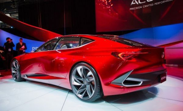 Acura Precision Concept - Rear View
