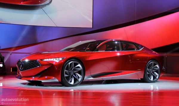 Acura Precision Concept - Side View