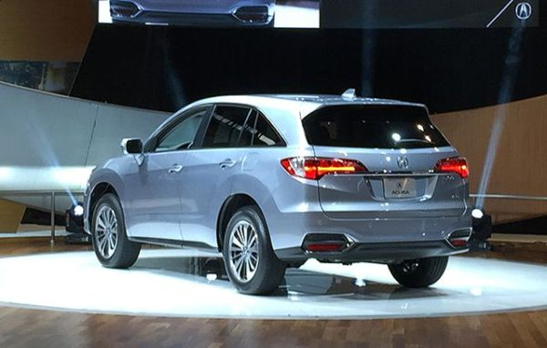 Acura RDX 2016 -  Rear View