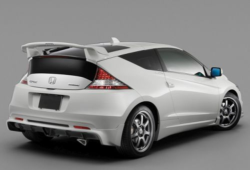 2018 Honda CR-Z Hatchback Concept Rendered - Rear View