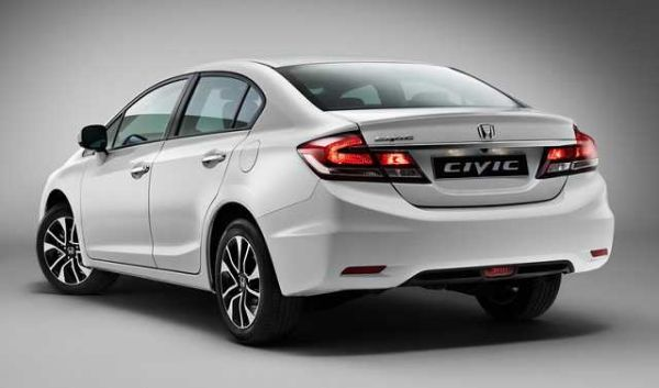 Honda Civic Hybrid 2017 - Rear View