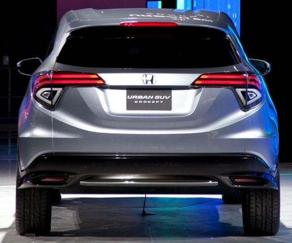 Rear View of 2015 Honda -  Urban