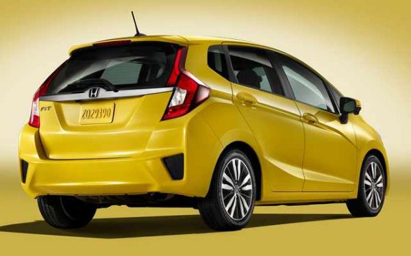 Rear View of 2016 - Honda Fit