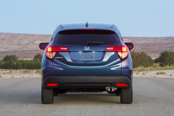 Rear View of 2016 - Honda HRV