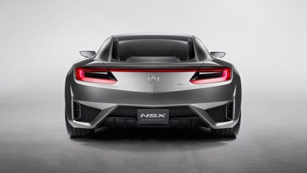Rear View of 2016 - Honda NSX