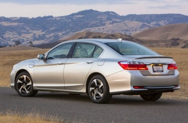 Side View of 2015 Honda Accord LX